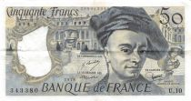 France 50 Francs Quentin de la Tour - 1978 Serial U.10 - VF+