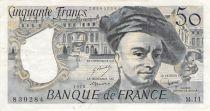 France 50 Francs Quentin de la Tour - 1978 Série M.11 - PTTB