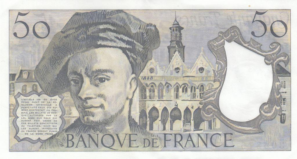 France 50 Francs Quentin de la Tour - 1978 Série R.13