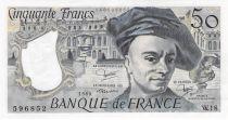 France 50 Francs Quentin de la Tour - 1980 Serial W.18 - aUNC