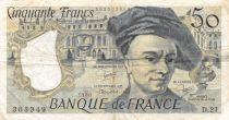 France 50 Francs Quentin de la Tour - 1980 Série D.21 - TB+
