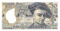 France 50 Francs Quentin de la Tour - 1981 Série B.22 - SUP+