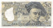 France 50 Francs Quentin de la Tour - 1981 Série L.25 - TTB