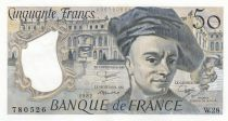 France 50 Francs Quentin de la Tour - 1982 Serial W.28