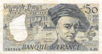 France 50 Francs Quentin de la Tour - 1982 Série G.26 - TB+