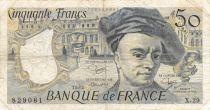 France 50 Francs Quentin de la Tour - 1982 Série X.29 - TB