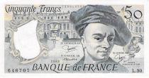 France 50 Francs Quentin de la Tour - 1983 Serial L.30 - AU
