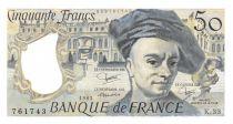 France 50 Francs Quentin de la Tour - 1983 Série K.33 - SPL+