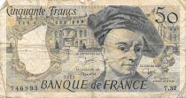 France 50 Francs Quentin de la Tour - 1983 Série T.32 - PTB