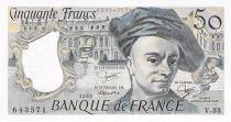 France 50 Francs Quentin de la Tour - 1983 Série V.33 - P.NEUF