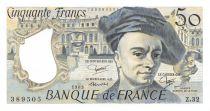 France 50 Francs Quentin de la Tour - 1983 Série Z.32 - SUP+