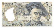 France 50 Francs Quentin de la Tour - 1984 Série B.37 - P.NEUF