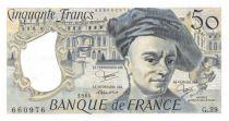 France 50 Francs Quentin de la Tour - 1984 Série G.39 - SUP