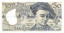 France 50 Francs Quentin de la Tour - 1984 Série S.40 - TTB+