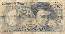 France 50 Francs Quentin de la Tour - 1985 Serial O.43 - G