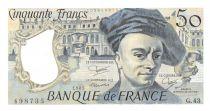 France 50 Francs Quentin de la Tour - 1985 Série G.43 - NEUF