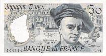 France 50 Francs Quentin de la Tour - 1985 Série L.41 - TTB+