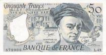 France 50 Francs Quentin de la Tour - 1985 Série L.43 - PSUP