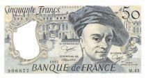 France 50 Francs Quentin de la Tour - 1985 Série M.43 - NEUF
