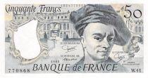 France 50 Francs Quentin de la Tour - 1985 Série W.41 - PSUP