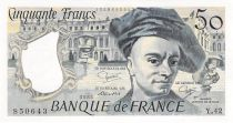 France 50 Francs Quentin de la Tour - 1985 Série Y.42 - SPL