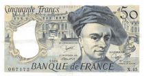 France 50 Francs Quentin de la Tour - 1986 Serial X.45 - XF