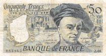 France 50 Francs Quentin de la Tour - 1986 Série J.46 - TB