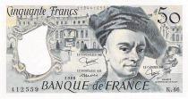 France 50 Francs Quentin de la Tour - 1986 Série K.46 - SPL+