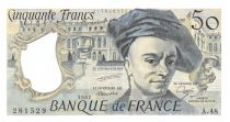 France 50 Francs Quentin de la Tour - 1987 Serial A.48 - AU+
