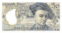 France 50 Francs Quentin de la Tour - 1987 Serial R.48 - AU