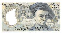 France 50 Francs Quentin de la Tour - 1987 Série C.47 - P.NEUF