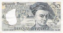 France 50 Francs Quentin de la Tour - 1987 Série K.48 - TTB