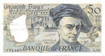 France 50 Francs Quentin de la Tour - 1987 Série L.49 - TTB+
