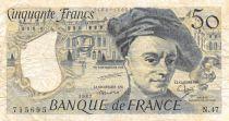 France 50 Francs Quentin de la Tour - 1987 Série N.47 - TB