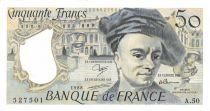 France 50 Francs Quentin de la Tour - 1988 Série A.50 - SPL