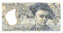 France 50 Francs Quentin de la Tour - 1988 Série A.51 - SPL