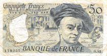 France 50 Francs Quentin de la Tour - 1988 Série O.53 - TB