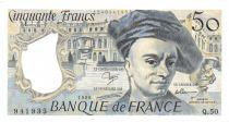 France 50 Francs Quentin de la Tour - 1988 Série Q.50 - PSPL