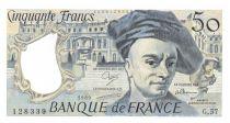 France 50 Francs Quentin de la Tour - 1989 Série G.57 - P.NEUF