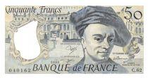 France 50 Francs Quentin de la Tour - 1990 Série C.62 - NEUF