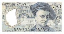 France 50 Francs Quentin de la Tour - 1990 Série G.61 - SUP+
