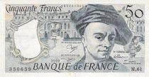 France 50 Francs Quentin de la Tour - 1990 Série M.61 - TTB