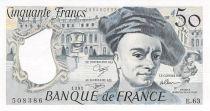 France 50 Francs Quentin de la Tour - 1991 Série E.63 - P.NEUF