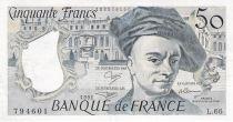 France 50 Francs Quentin de la Tour - 1991 Série L.66 - TTB