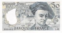 France 50 Francs Quentin de la Tour - 1991 Série L.68 - PSPL