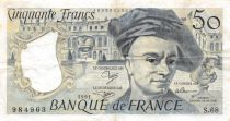 France 50 Francs Quentin de la Tour - 1991 Série S.68 - PTTB