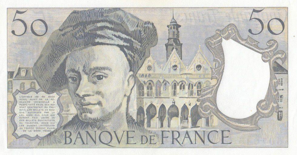 France 50 Francs Quentin de la Tour - D.32 - 1983