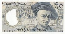France 50 Francs Quentin de la Tour - D.52 - 1988