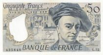 France 50 Francs Quentin de la Tour - G.52 - 1988