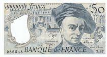 France 50 Francs Quentin de la Tour - Série Z.67 - 1991